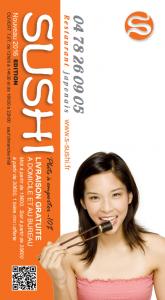Carte S-Sushi